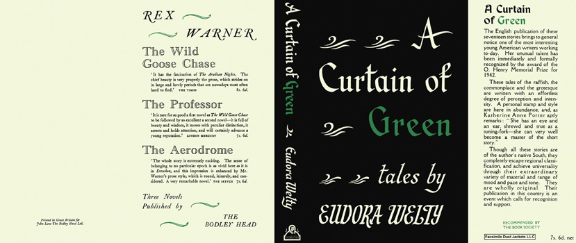 Curtain of Green, A. Eudora Welty.