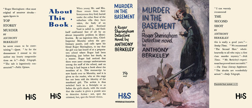 Murder in the Basement. Anthony Berkeley