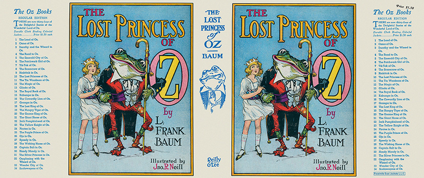 Lost Princess of Oz, The. L. Frank Baum, John R. Neill