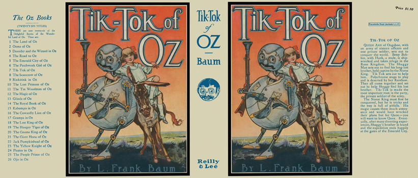 Tik-Tok of Oz. L. Frank Baum