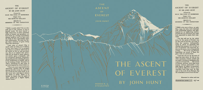 Ascent of Everest, The. Sir John Hunt