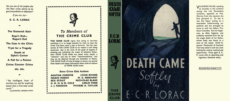 Death Came Softly. E. C. R. Lorac