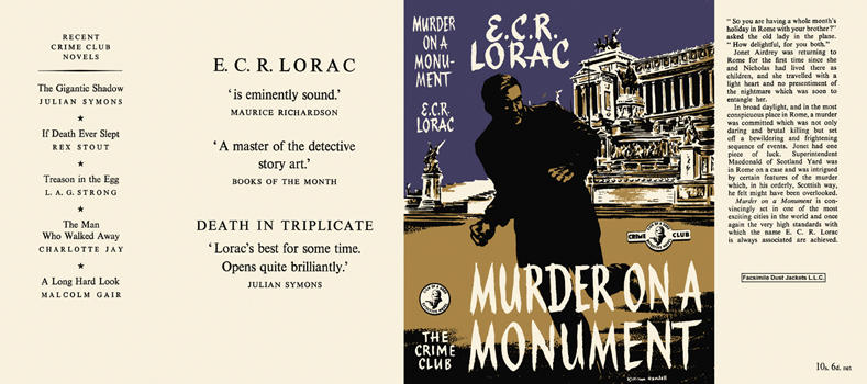 Murder on a Monument. E. C. R. Lorac