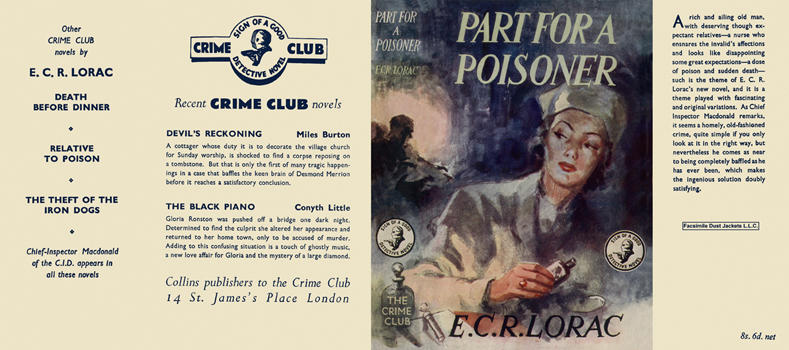 Part for a Poisoner. E. C. R. Lorac.