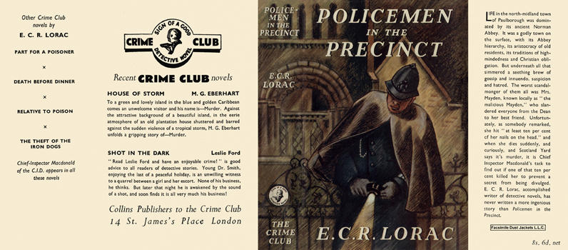 Policemen in the Precinct. E. C. R. Lorac