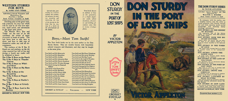 Don Sturdy in the Port of Lost Ships. Victor Appleton.