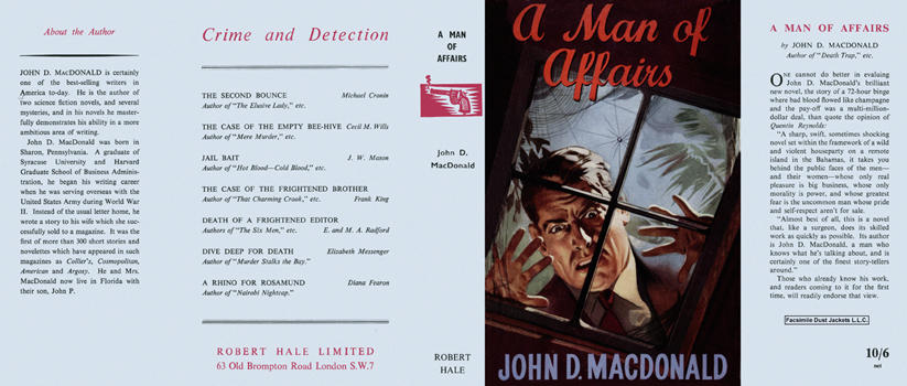 Man of Affairs, A. John D. MacDonald.
