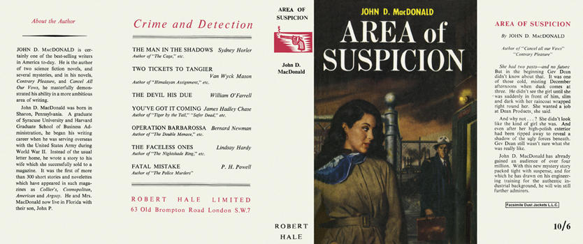 Area of Suspicion. John D. MacDonald.