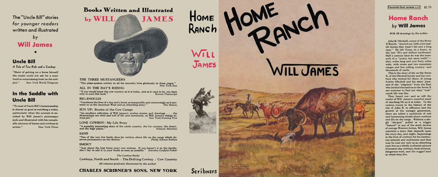 Home Ranch. Will James.