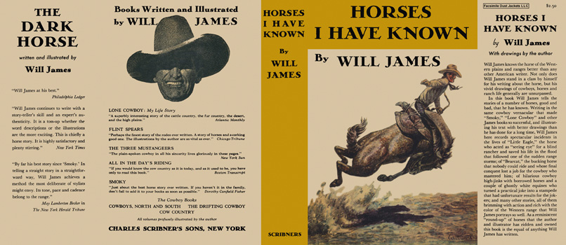 Horses I Have Known. Will James.