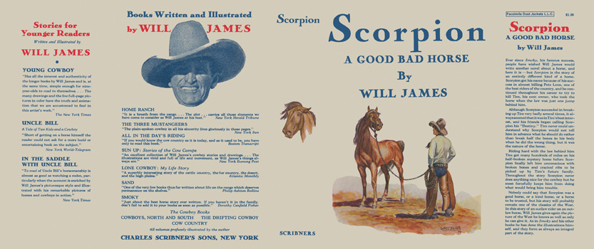 Scorpion, A Good Bad Horse. Will James