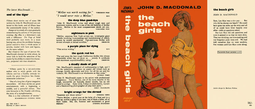 Beach Girls, The. John D. MacDonald.