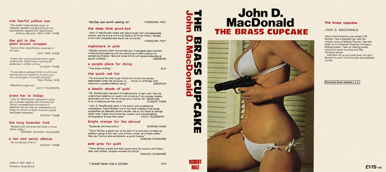 Brass Cupcake, The. John D. MacDonald.