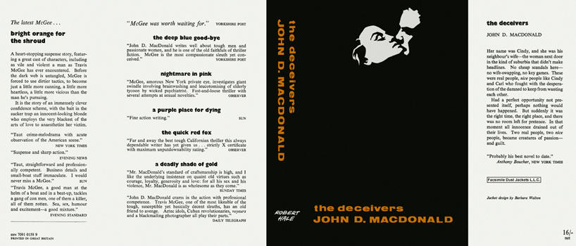 Deceivers, The. John D. MacDonald.