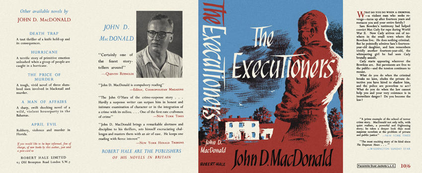 Executioners, The. John D. MacDonald.