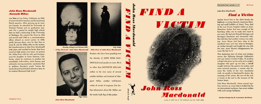 Find a Victim. John Ross Macdonald