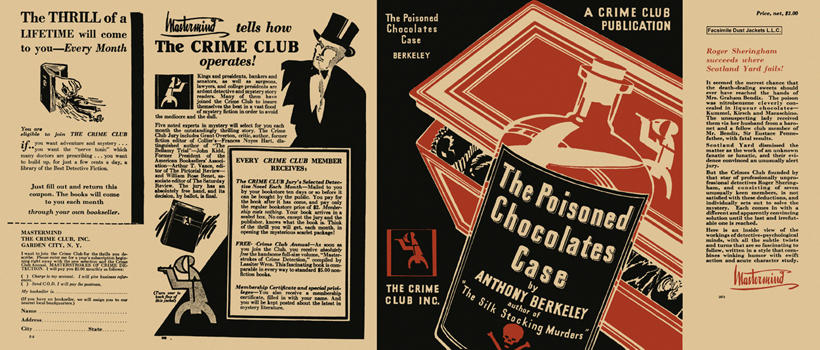 Poisoned Chocolates Case, The. Anthony Berkeley