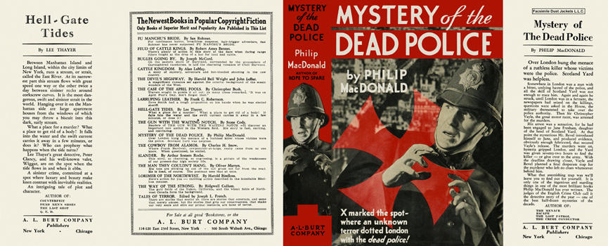 Mystery of the Dead Police. Philip MacDonald.