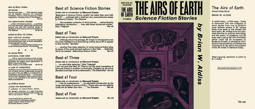 Airs of Earth, The. Brian W. Aldiss