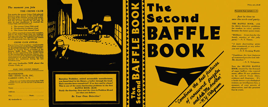 Second Baffle Book, The. Anthology