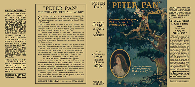 Peter Pan. J. M. Barrie