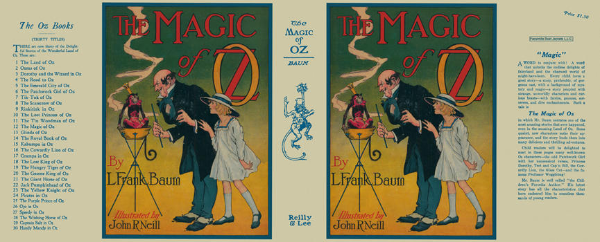 Magic of Oz, The. L. Frank Baum, John R. Neill