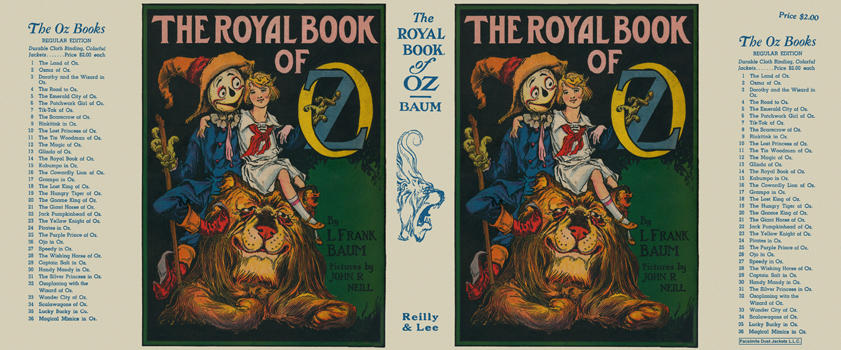 Royal Book of Oz, The. L. Frank Baum, John R. Neill