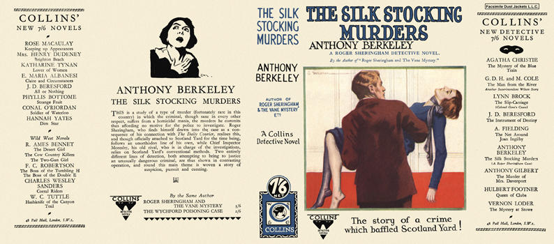 Silk Stocking Murders, The. Anthony Berkeley