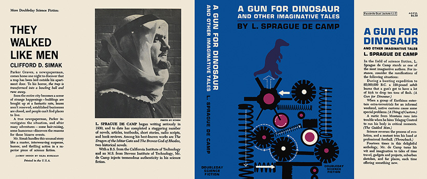 Gun for Dinosaur and Other Imaginative Tales, A. L. Sprague de Camp