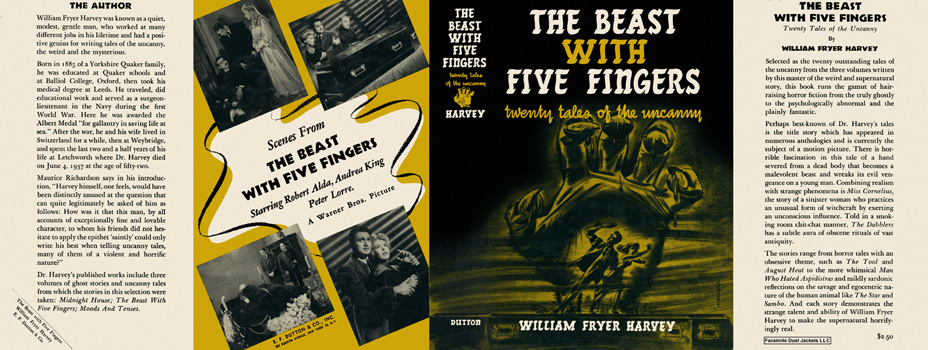 Beast with Five Fingers, The. William Fryer Harvey