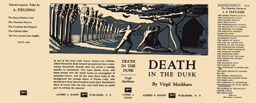 Death in the Dusk. Virgil Markham.