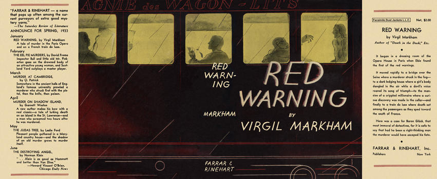 Red Warning. Virgil Markham.