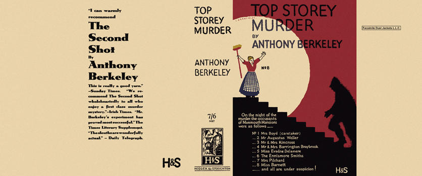 Top Storey Murder. Anthony Berkeley