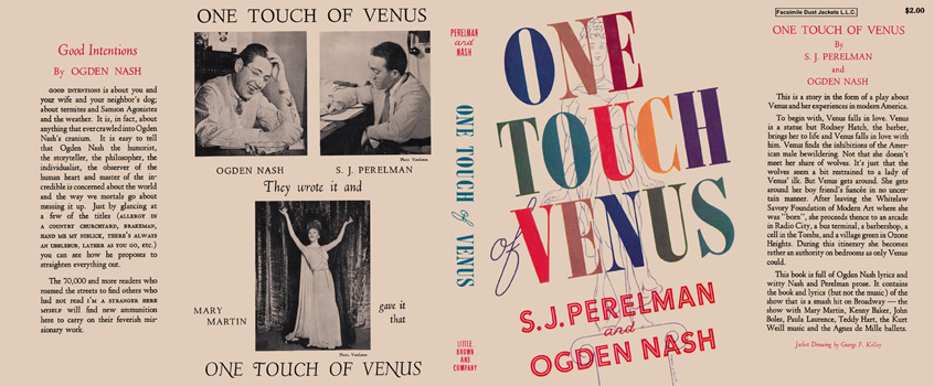 One Touch of Venus. S. J. Perelman, Ogden Nash