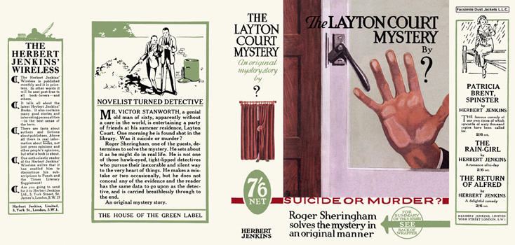 Layton Court Mystery, The. Anthony Berkeley, Anonymous