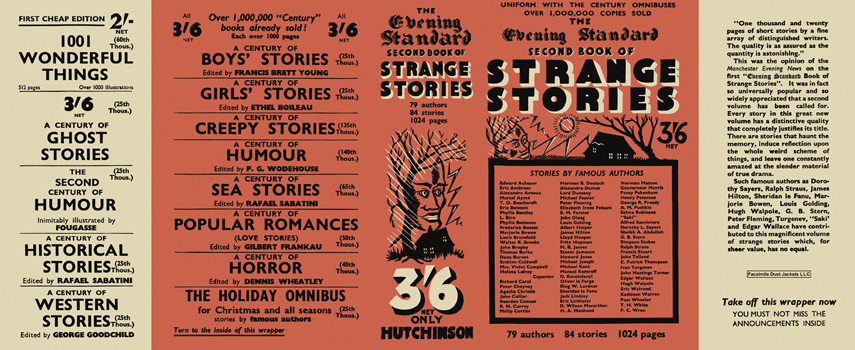 Evening Standard Second Book of Strange Stories, The. Anthology