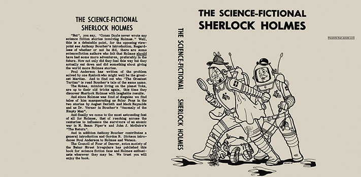 Science-Fictional Sherlock Holmes, The. Anthology