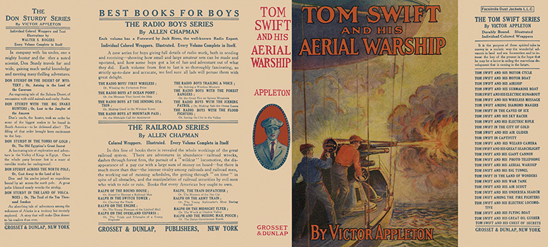Tom Swift #18: Tom Swift and His Aerial Warship. Victor Appleton.