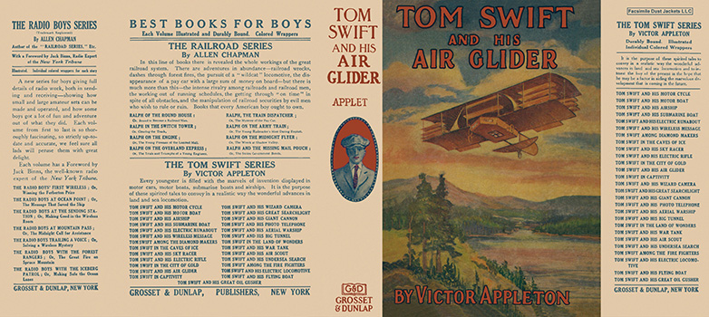 Tom Swift #12: Tom Swift and His Air Glider. Victor Appleton.
