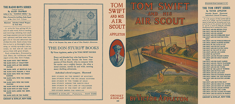 Tom Swift #22: Tom Swift and His Air Scout. Victor Appleton.