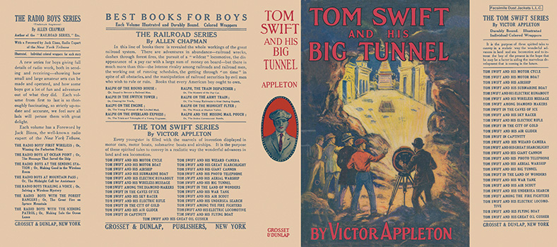 Tom Swift #19: Tom Swift and His Big Tunnel. Victor Appleton.