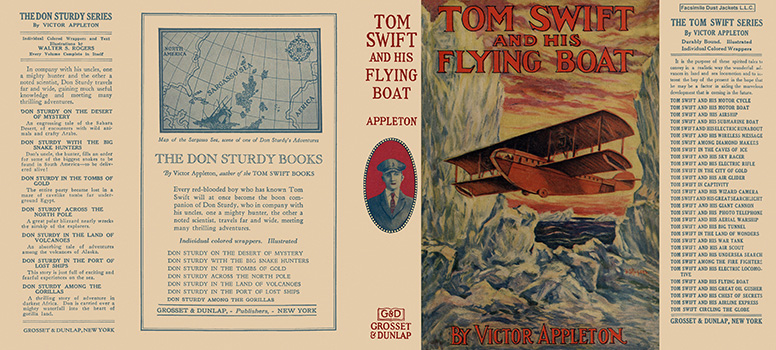 Tom Swift #26: Tom Swift and His Flying Boat. Victor Appleton.