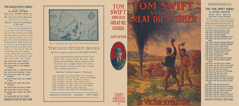 Tom Swift #27: Tom Swift and His Great Oil Gusher. Victor Appleton.