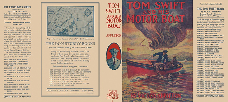 Tom Swift #02: Tom Swift and His Motor Boat. Victor Appleton.