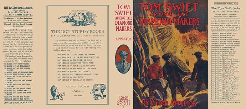 Tom Swift #07: Tom Swift Among the Diamond Makers. Victor Appleton.