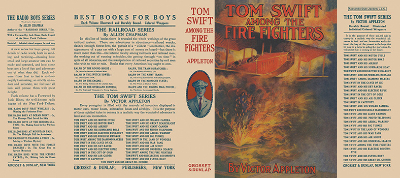 Tom Swift #24: Tom Swift Among the Fire Fighters. Victor Appleton.