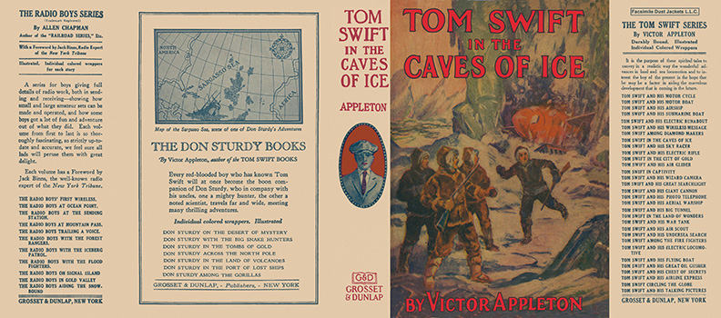 Tom Swift #08: Tom Swift in the Caves of Ice. Victor Appleton.