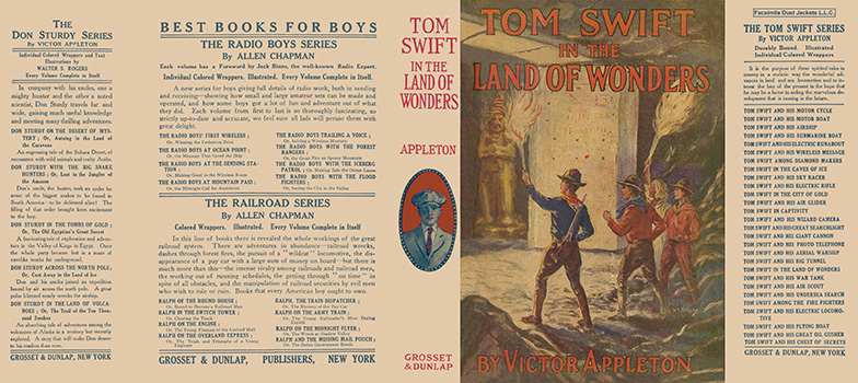 Tom Swift #20: Tom Swift in the Land of Wonders. Victor Appleton.