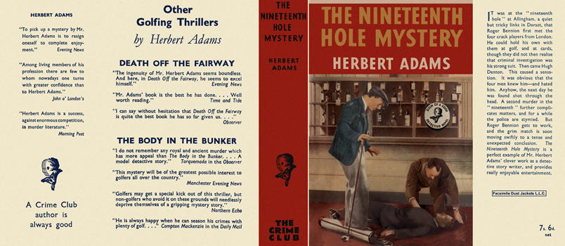 Nineteenth Hole Mystery, The. Herbert Adams