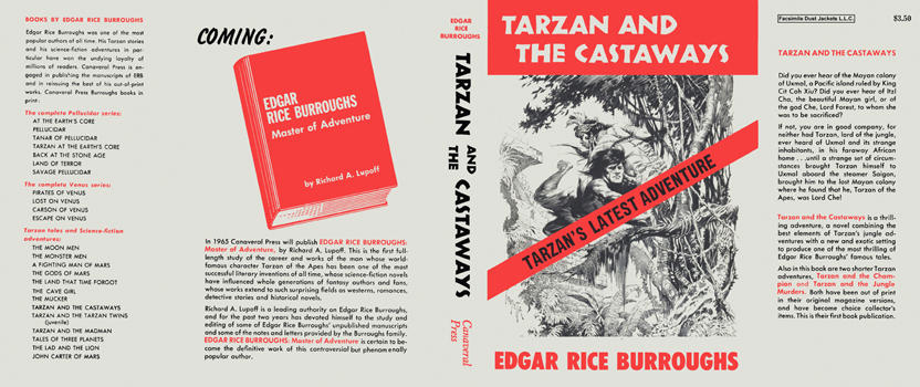 Tarzan and the Castaways. Edgar Rice Burroughs.